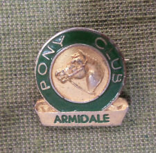 #D350. Armidale Pony Club Lapel Badge