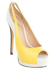 NEW Siren Amadee Yellow Patent Heels Size 6