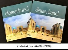 COLLECTION OF UZBEKISTAN SAMARKAND STAMPS IN SOUVENIR STAMP BOOK