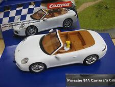 Carrera 30762 Digital 132 Porsche 911 Carrera S Cabriolet mattweiß I+S NEU/OVP