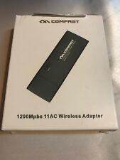 New Comfast 1200Mpbs 11AC Wireless Adapter, Black
