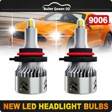 8-Sides CSP 9006 HB4 9012 LED Headlight Fog Lights Kit CREE 1600W 250000LM 6000K