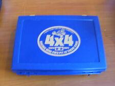 Vintage Tamiya Pit Attache Case 15042 * 1500 RARE BLUE EXCELLENT CONDITION