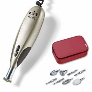 Beurer MP 60 elektrisches Maniküre-/ Pediküre-Set, mit 9 Nagelpflege-Aufsätzen