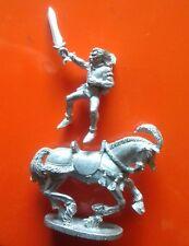 Montado caballería Guerrero Wood Elf & caballo Monte Granadero Elfos Miniatura Espada
