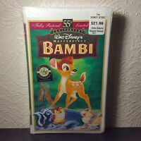 Walt Disney Bambi 55th Anniversary Fully Restored Limited Edition New In Plastic