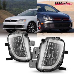 For 2010-2014 Volkswagen GTI MK6 2012-2017 Jetta Replacement Fog Light