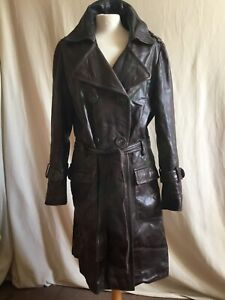 Sublime veste cuir ZAPA marron taille 40 en très bon état.