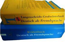 Wörterbücher Deutsch als Fremdsprache