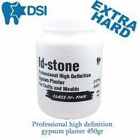 Dental High Definition Gypsum / Paris Plaster For Crafts Moulds 450gr Extra Hard