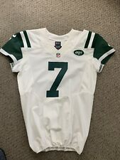 2016 GENO SMITH NEW YORK JETS GAME WORN USED JERSEY WEST VIRGINIA