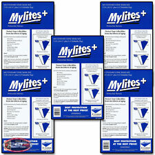 500 - E. GERBER MYLITES+ STANDARD (BRONZE) 1.4-Mil Mylar Bags Sleeves! 725M+
