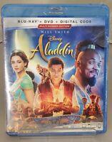 Aladdin Blu-ray + DVD + Digital Walt Disney - 2019