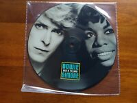 """DAVID BOWIE NINA SIMONE Wild Is The Wind 7"""" Picture Disc Vinyl Reel To Cover"""