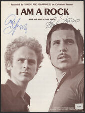 PAUL SIMON & ART GARFUNKEL Signed Sheet Music Cover - Pop Duo - preprint