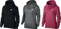 Nike Women's Sportswear Funnel-Neck Hoodie Sweat Training Gym Ladies Sport