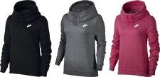 Nike Women's Sportswear Funnel-Neck Hoodie Sweat Training Gym Ladies Sport