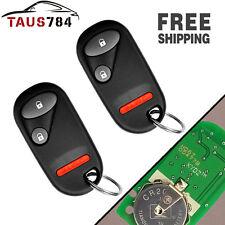 2X  Keyless Entry Remote Key Fob Clicker Transmitter For HONDA NHVWB1U523 01-05