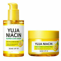 SOME BY MI Yuja Blemish Care Serum Yuja Niacin Brightening Sleeping Mask