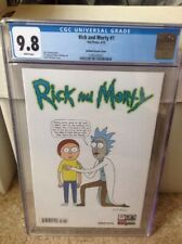 Rick And Morty 1 CGC 9.8 Roiland Variant Cover