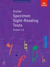 NEW Guitar Specimen Sight-Reading Tests, Grades 1-8 by Abrsm BOOK (Sheet music)