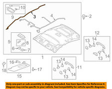 MAZDA OEM 16-17 6 Interior-Roof-Antenna Cable GRT666F40