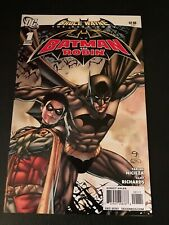 Bruce Wayne: The Long Road Home: Batman and Robin #1 in NM +. DC comics