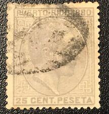 Puerto Rico: 1880 SC # 38 Used. Lot # 01079