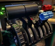 Beechcraft Baron G58 Offset Split Throttle Handles | Honeycomb Bravo | MSFS2020