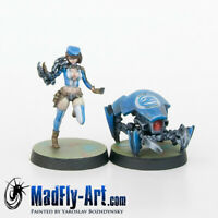 Tech Bee & Crabbot MASTERS6 Infinity painted MadFly-Art