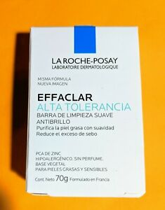 La Roche-Posay ALTA TOLERANANCI Sensitive Cleaning Soap EFFACLAR † 70g Bar † 1ct