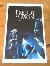 "Freddy Vs. Jason ~ 11"" x 17"" Movie Poster ~ Krueger Voorhees Friday the 13th"