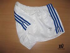 Vintage Retro Adidas Sprinter Glanz Nylon Running Shorts Oldschool Shiny 80s M