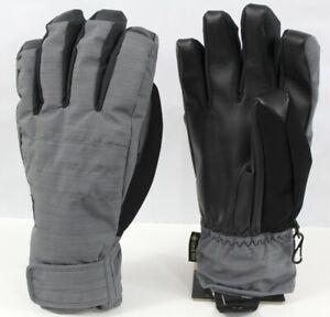 Burton Reverb Gore-Tex Snowboard Gloves Mens Size Small Bog Heather New