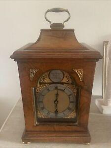 SMALL Antique Walnut Bracket Mantel Clock / Timepiece : Charles Frodsham