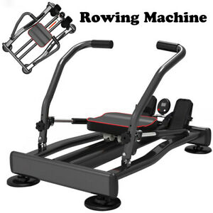 Exercise Rowing Machine Hydraulic Rower w/Adjustable Resistance Home Gym Fitness