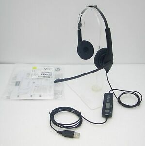 Jabra BiZ 1500 USB Wired Stereo Over-The-Head PC Headset Supra-Aural 32Ohm 20Hz
