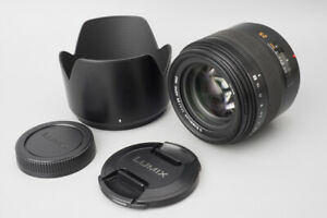 Panasonic Lumix Leica D Summilux 25mm f/1.4 f1.4 ASPH. Lens Fr 4/3 Mount, L-X025