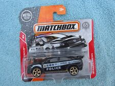 Matchbox '15 SUBARU WRX STI POLICE CAR NEW ON CARD