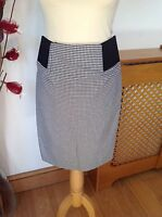 STUNNING SINEQUANONE LINED CHECK SKIRT UK SIZE 10 /NEW WITH OUT TAGS