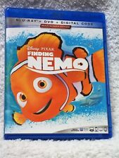 Finding Nemo (Blu-ray/Dvd, 2020) Albert Brooks, Ellen DeGeneres Disney animated