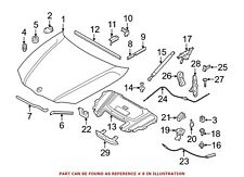 For BMW Genuine Hood Seal Front 51767158689