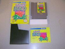 TOTALLY RAD (Nintendo NES) Complete CIB