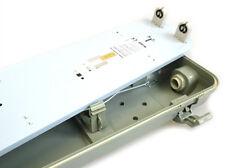 A2ZWORLD PLAFONIERA STAGNA DOPPIO TUBO LED T8 150CM X 2 IMPERMEABILE IP65 ESTERN