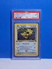 Mint Psa 9 First Edition Pidgeot 8/64 Holo Pokemon Card Jungle 1st Ed