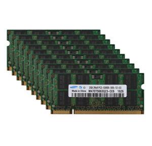 Samsung 2GB 2 GB PC2-5300S DDR2-667Mhz 200pin SODIMM Laptop RAM PC5300S Lot Kit