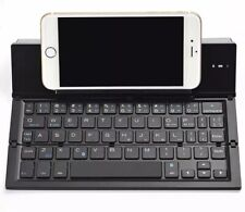 Geyes Folding Bluetooth Keyboard Ptops and Smartphones, Black, Free Shipping