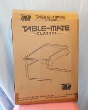ORIGINAL TABLE MATE CLASSIC  ADJUSTABLE PORTABLE TV TABLE WHITE NEW IN BOX