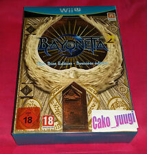BAYONETTA 2 EDITION PREMIERE FIRST PRINT EDITION  NINTENDO WII U READY TO SHIP