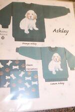 Needle Beetle Knitting Pattern Ashley Clumber Spaniel Puppy 32-46